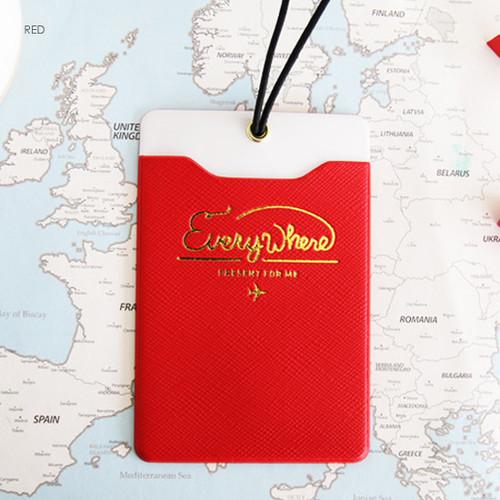 Pland Everywhere Travel Name Luggage Tag Fallindesign
