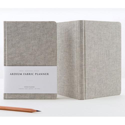 2016 Ardium Linen fabric cover dated planner