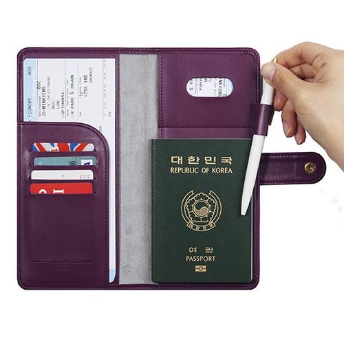 Monopoly Travel Rfid Blocking Long Passport Case Ver 4