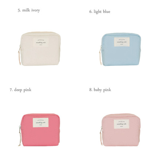 Donbook Something Wish Oxford Mini Zipper Pouch Fallindesign