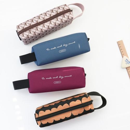 Iconic Plain handy strap pencil case - fallindesign
