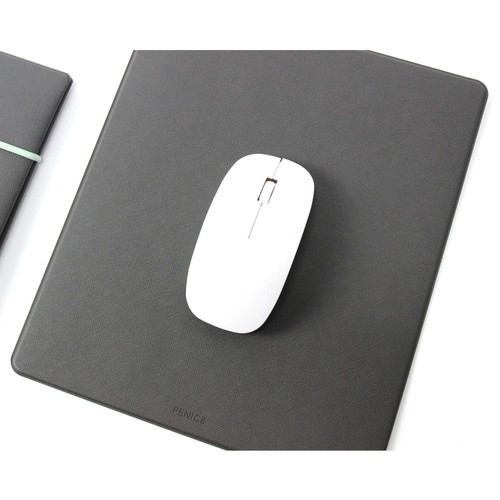 Superb Gray   Fenice Office Premium Mouse Pad