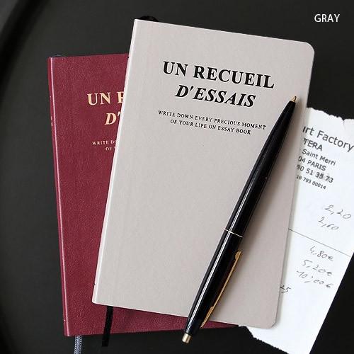Fallindesign | Iconic Un recueil dessais essay notebook ver.6