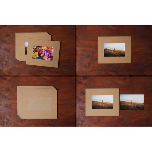 Moods&Views 4X6 Premium Kraft paper photo frame set