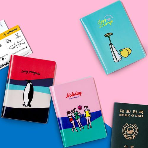 Lazy lounge RFID blocking passport case