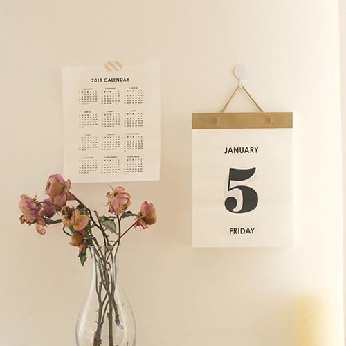 Livework  Every Day Wall Calendar  FallindesignCom