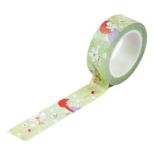 Anne of green gables 0.59X11yd single deco masking tape - Flower fairy