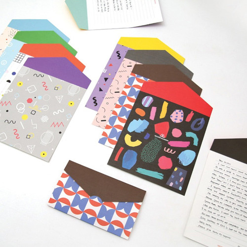 Second Mansion Folding pattern letter paper