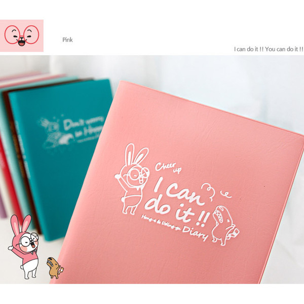 Wanna This cute character undated diary scheduler ver.3 ... - photo#44