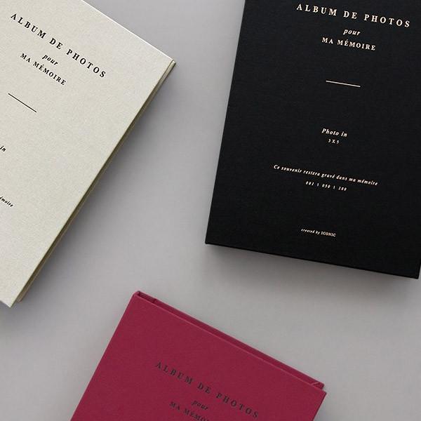 album de photos 3x5 slip in photo album. Black Bedroom Furniture Sets. Home Design Ideas