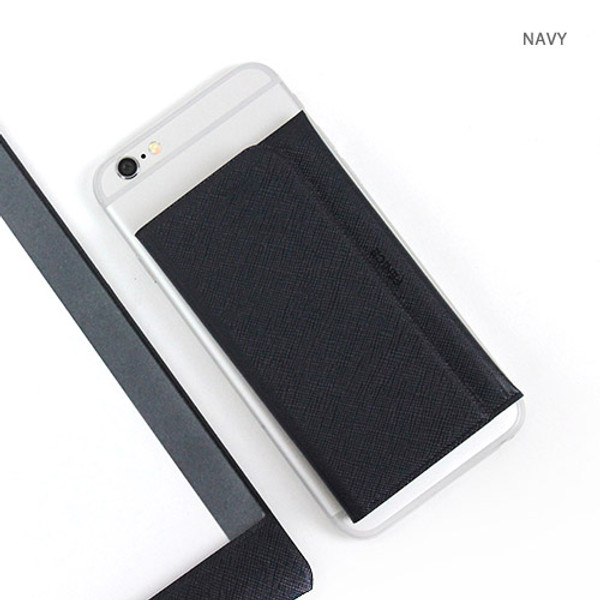 Fenice premium business sticky pocket card case fallindesign navy premium business sticky pocket card case colourmoves