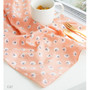 Cat - Vintage pattern cotton handkerchief hankie ver.2