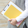 Mon cahier wirebound large undated daily planner