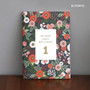Blooming - Becoming 1 month undated planner scheduler