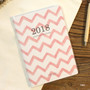 Pink - 2018 Spring come pattern dated monthly planner