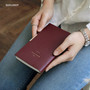 Burgundy - 2018 Monologue small dated weekly diary