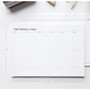 Size of The Weekly times desk planner notepad