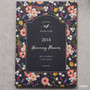 Garden - 2018 Pour vous humming large dated monthly planner