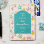 Hawaii - 2018 Pour vous humming small dated monthly planner