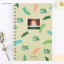 Light green - Anne of green gables spiral lined and grid notebook