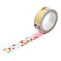 Anne of green gables 0.59X11yd single deco masking tape - Apple