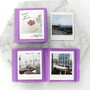 Lavender - 2NUL Colorful Instax square slip in pocket photo album