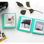 Mint - 2NUL Colorful Instax square slip in pocket photo album