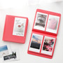Coral pink - 2NUL Colorful Instax mini medium slip in pocket photo album