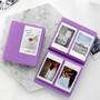 Lavender - 2NUL Colorful Instax mini medium slip in pocket photo album