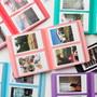 2NUL Colorful Instax mini medium slip in pocket photo album