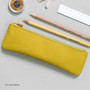 Yellow green - Dash and Dot Slim and modern zipper pencil case