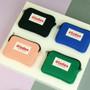 Etudes cotton card case wallet