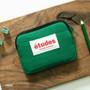 Green - Etudes cotton card case wallet