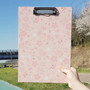 Buri cherry blossom pattern A4 clipboard