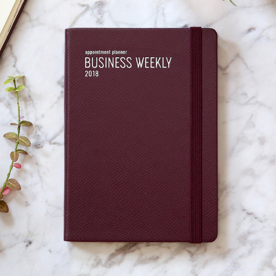 monopoly 2018 appointment b6 business dated weekly agenda