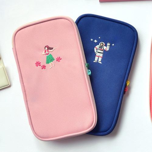 Jam Studio Folding Pencil Case Pocket Pouch Ver 3