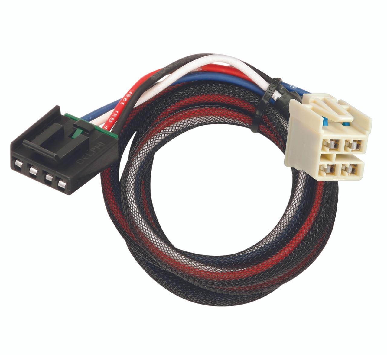 3016 --- Tekonsha & Draw-Tite Brake Control Dual Plug Wiring Harness -
