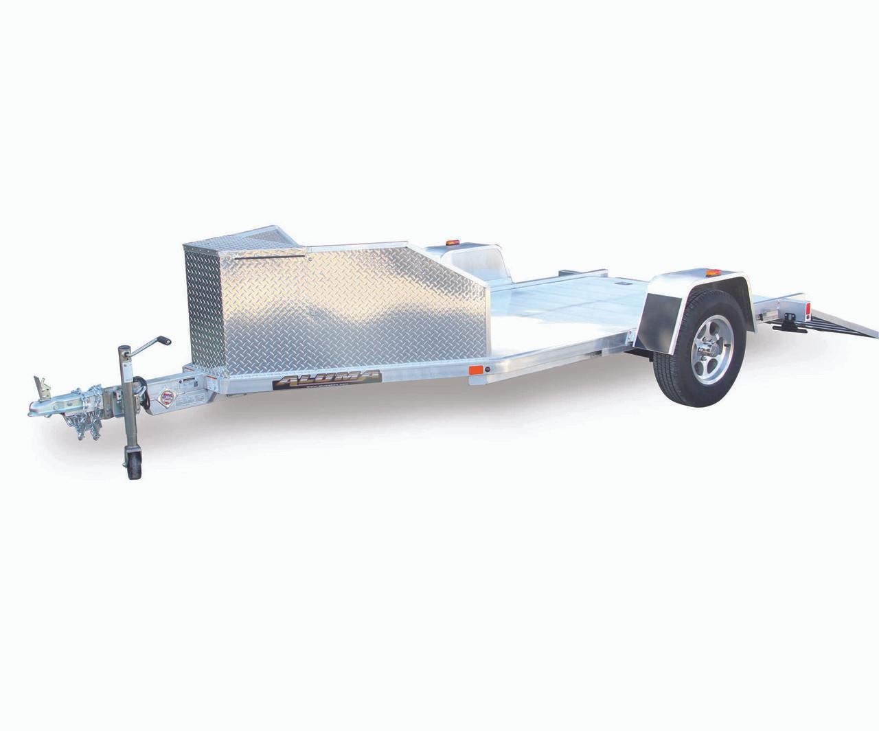 Altk1 63 X 137 Aluminum Trike Trailer With Ramp Croft Aluma Wiring Diagram