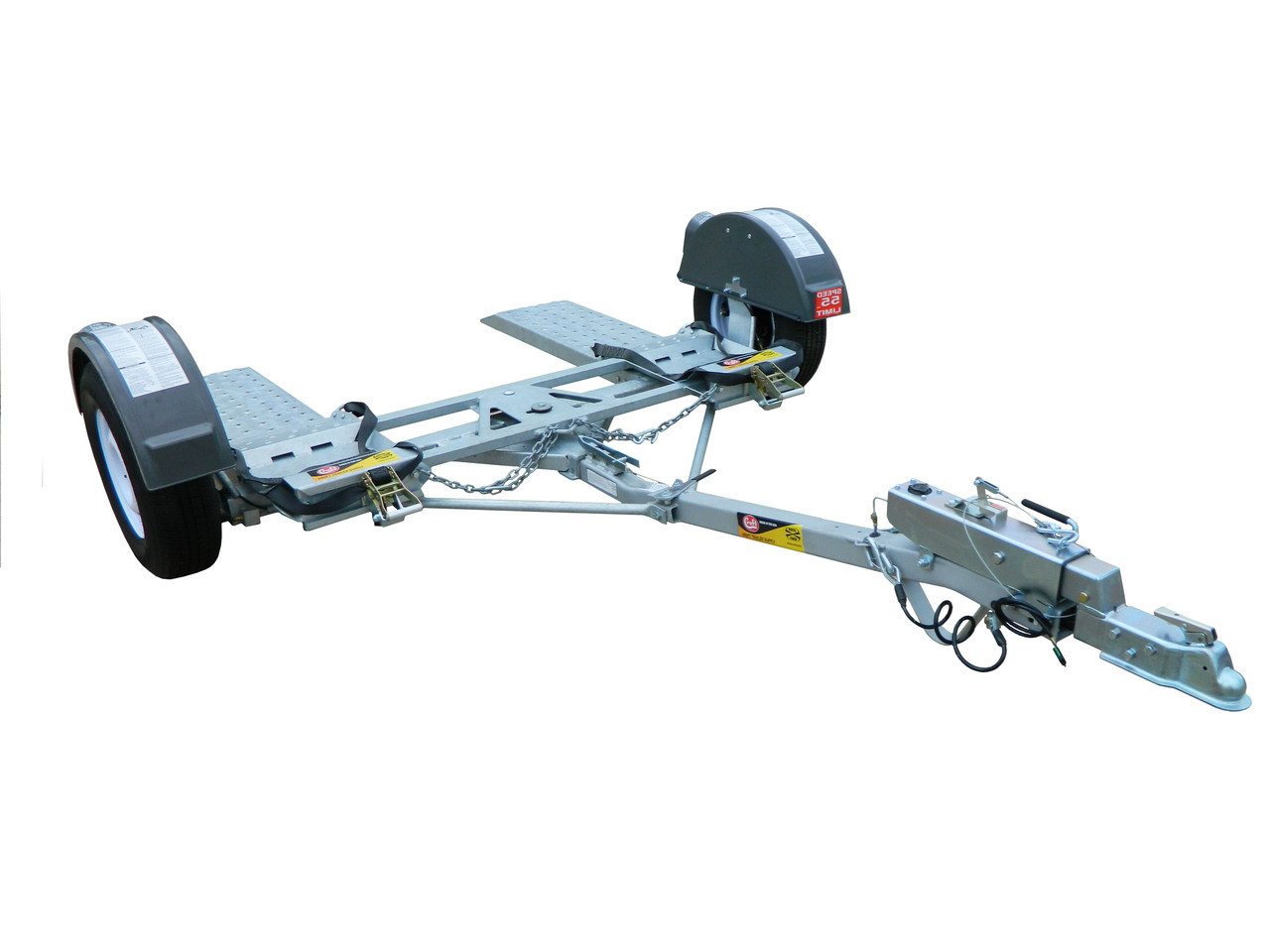 Cgtd76db Croft Torsion Axle Tow Dolly With Surge Disc Brakes