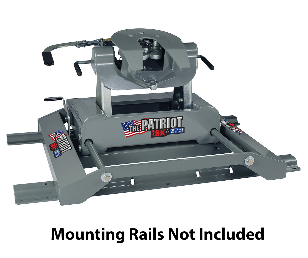 5th Wheel Hitch Mounting Rails Assembly Diagram For The Reese Titan 20k Fifth Part Bw Patriot Slider Made 1280x1073