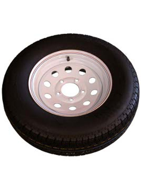 "WT14-5WMD --- 14"" Trailer Wheel and Tire Assembly, 5 on 4-1/2"""