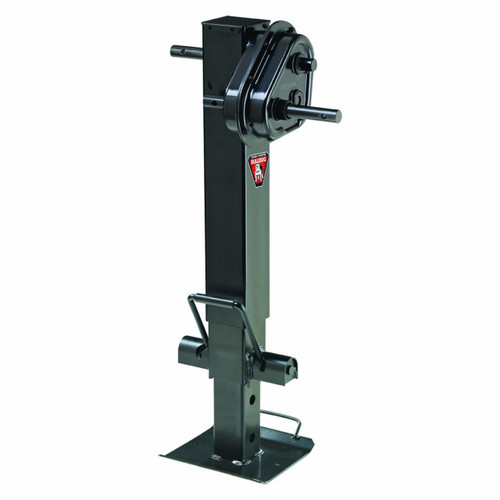 183749 --- BULLDOG Twin Cam Drop Leg Trailer Jack - 25,000 lb Lift Capacity - Two Speed