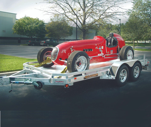 "AL7816 --- 78"" x 16' Aluminum Tandem Utility Trailer"