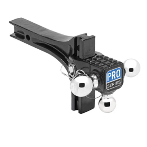 63070 --- Adjustable Ball Mount, Tri-Ball Combination
