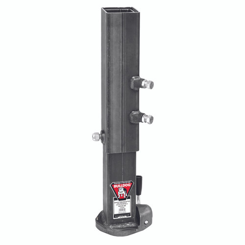 BX1SQ --- BULLDOG Gooseneck Coupler  with Adjustable Pipe - 25,000 lb Capacity