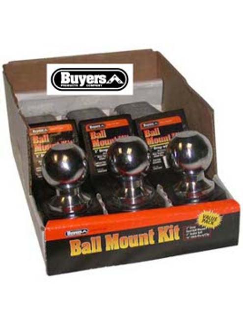 "BMK2-2516B --- Ball Mount Kit - 2-5/16"" Drop - 6,000 lb Capacity - 3 Pack"