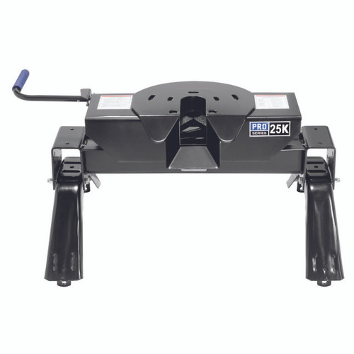 Pro Series 25,000 lb Fifth Wheel Hitch, bed mounting rails are not included