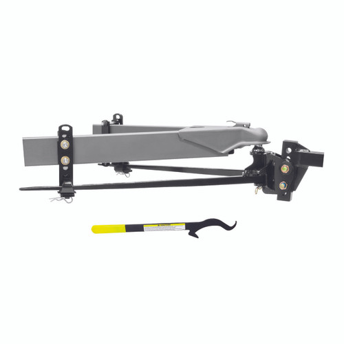 66558 --- Reese STEADi-FLEX® 6,000 lb Trunnion Weight-Distributing Hitch Kit with Shank