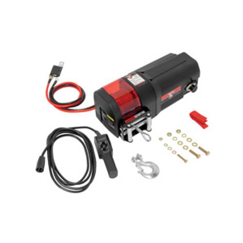 500401 --- BULLDOG DC Electric  Utility Winch, 3500 lb Capacity