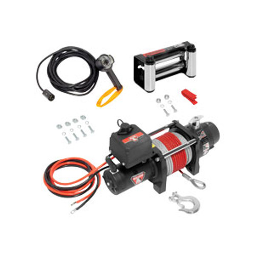 500423 --- BULLDOG DC Electric  Heavy Duty Winch, 6000 lb Capacity